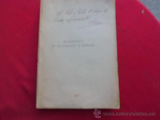 LIBRO PROPEDÉUTICA DE DEONTOLOGÍA Y DERECHO 1927 VALLADOLID L-2263 (Libros Antiguos, Raros y Curiosos - Ciencias, Manuales y Oficios - Medicina, Farmacia y Salud)