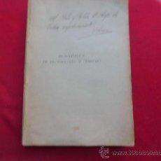 Libros antiguos: LIBRO PROPEDÉUTICA DE DEONTOLOGÍA Y DERECHO 1927 VALLADOLID L-2263. Lote 34075681