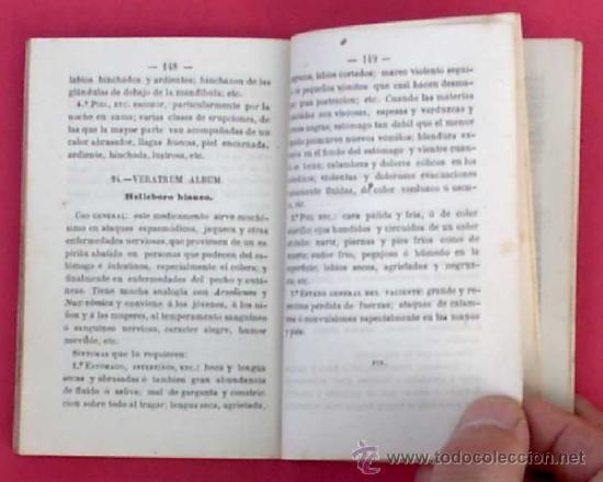 Libros antiguos: GUÍA POPULAR DE HOMEOPATÍA. SE VENDE EN LA GRAN FARMACIA HOMEOPÁTICA DEL DR, GRAU ALAS, 1870. 1ª ED. - Foto 6 - 34139079