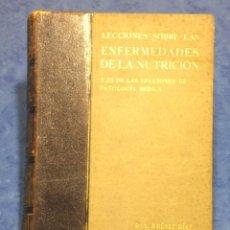 Libros antiguos: LECCIONES SOBRE LAS ENFERMEDADES DE LA NUTRICION TOMO III PRIMERA EDICION DR C.JIMENEZ DIAZ MCMXXXIX. Lote 34332809