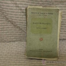 Libros antiguos: 2110- MANUAL DE BACTEREOLOGIA. GILBERT Y FOURNIER. EDIT SALVAT. 1916. Lote 34669499