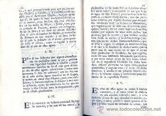 Libros antiguos: ESTEBAN Y LECHA. Escrutinio sobre las aguas de Alaraz y Muñana (Avila). Salamanca, 1753. Raro - Foto 3 - 34998995