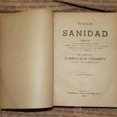 Libros antiguos: 2199- TRATADO DE SANIDAD. ABELLA. IMP. EL CONSULTOR. 1914.. Lote 35124305