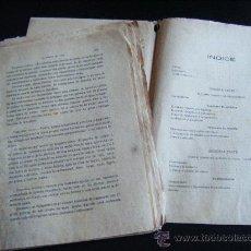 Libros antiguos: PARTE LIBRO EL MÉDICO EN CASA. FINALES SIGLO XIX, PÁGINAS DE 453 Á 523, FINAL DEL LIBRO. INTERESANTE. Lote 35430763