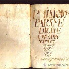 Libros antiguos: MANUSCRITO MEDICINA EN PERGAMINO DEL S. XVII, ENTRE 1667 Y 1669. Lote 35562786