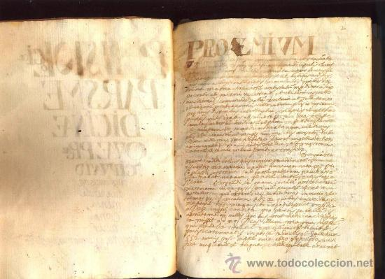 Libros antiguos: Manuscrito medicina en pergamino del S. XVII, entre 1667 y 1669 - Foto 5 - 35562786