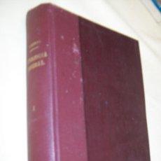 Libros antiguos: ELEMENTOS DE PATOLOGÍA GENERAL-L. DE CORRAL Y J.M. DE CORRAL-1927-TIP. DE ANDRÉS MARTÍN SÁNCHEZ-VALL. Lote 35578467