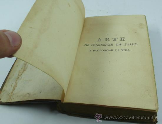 Libros antiguos: Arte de conservar la salud, prolongar la vida, trat. de higiene de Mr. Pressavin. Año 1800,salamanca - Foto 2 - 36339503