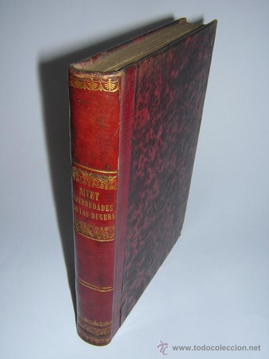 1845 - BLATIN / VILLALBA - TRATADO DE LAS ENFERMEDADES DE LAS MUGERES (Libros Antiguos, Raros y Curiosos - Ciencias, Manuales y Oficios - Medicina, Farmacia y Salud)