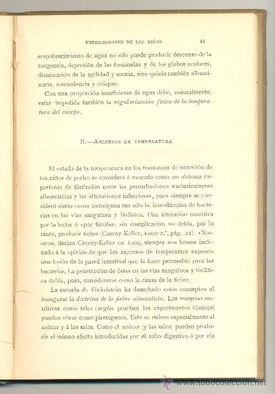 Libros antiguos: ANUARIO DE CIENCIAS MÉDICAS.ENFERMEDADES DE LOS NIÑOS. Año 1911 -Pfaundler y Ernst- Envío: 2,50 € *. - Foto 4 - 36605924