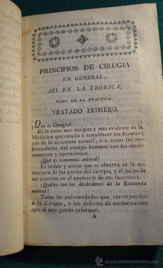 Libros antiguos: PRINCIPIOS DE CIRUGIA - RAMON FERNANDEZ - MADRID 1817 - VILLALPANDO - - Foto 2 - 36692735