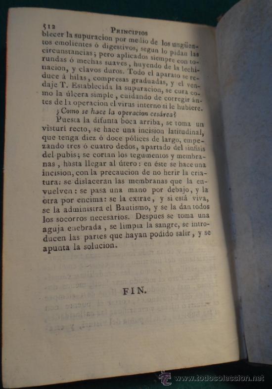 Libros antiguos: PRINCIPIOS DE CIRUGIA - RAMON FERNANDEZ - MADRID 1817 - VILLALPANDO - - Foto 10 - 36692735