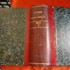 Libros antiguos: GRAN TOMO 1913 TOMO 2 ARCHIVOS INTERNACIONALES , LARINGOLOGIA MEDICINA. Lote 36728489