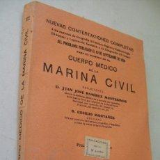 Libros antiguos: NUEVAS CONTESTACIONES COMPLETAS A LAS MATERIAS DE GEOGRAFÍA ( 12 TEMAS), HIGIENE Y EPIDEMIOLOGÍA -. Lote 36924066