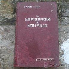 Libros antiguos: EL LABORATORIO MODERNO DEL MÉDICO PRÁCTICO. Lote 36971566