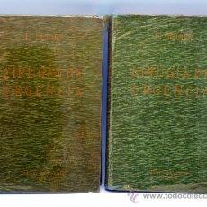 Libri antichi: TRATADO CIRUGÍA DE URGENCIA FÉLIX LEJARS ED BAILLY BAILLERE 1926 5ª EDICIÓN 2 TOMOS. Lote 37217841