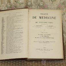 Libros antiguos: 3268- TRAITE DE MEDECINE ET DE THERAPEUTIQUES. BROUARDEL. EDIT. BAILLIERE. 1901. TOMO 8.. Lote 37435240