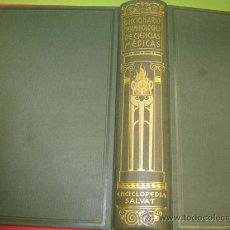 Libros antiguos: DICCIONARIO TERMINOLOGICO DE CIENCIAS MEDICAS SALVAT 2ª EDICION DR. LEON CARDENAL. Lote 37512046