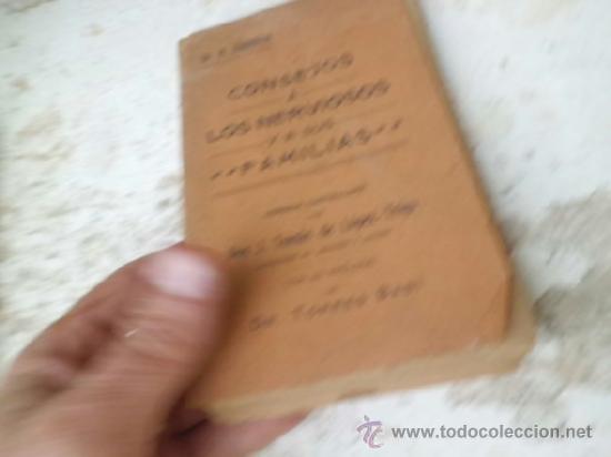 LIBRO CONSEJOS A LOS NERVIOSOS Y A SUS FAMILIAS DR. H. ZBINDEN 1909 L-3791 (Libros Antiguos, Raros y Curiosos - Ciencias, Manuales y Oficios - Medicina, Farmacia y Salud)