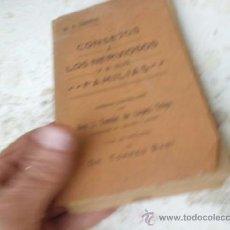 Libros antiguos: LIBRO CONSEJOS A LOS NERVIOSOS Y A SUS FAMILIAS DR. H. ZBINDEN 1909 L-3791. Lote 37682772
