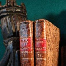 Libros antiguos: NOSOGRAPHIAE COMPENDIUM - PINEL - EDITIO PRIMA HISPANA - 1829 - MATRITI - TOMUS I Y II -. Lote 37958179