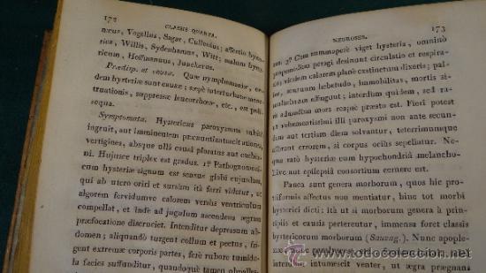 Libros antiguos: NOSOGRAPHIAE COMPENDIUM - PINEL - EDITIO PRIMA HISPANA - 1829 - MATRITI - TOMUS I Y II - - Foto 10 - 37958179