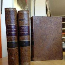Libros antiguos: 1889.- ENCICLOPEDIA FARMACEUTICA O DICCIONARIO GENERAL DE FARMACIA. MARIANO PEREZ M. MINGUEZ. Lote 38046634