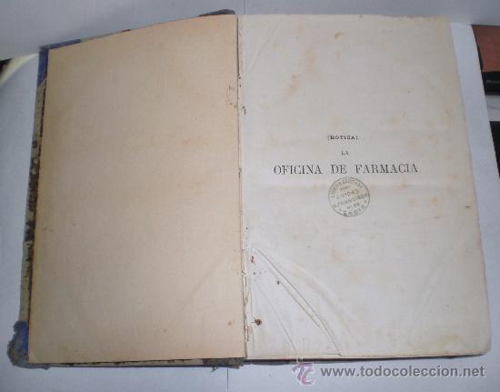 Libros antiguos: Botica. La Oficina de Farmacia - Dorvault - 1ª Edición (1872-1878). 2 Volúmenes (obra completa) - Foto 6 - 38105203