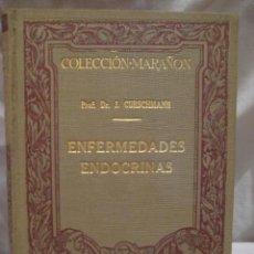 Libros antiguos: ENFERMEDADES ENDOCRINAS. CURSCHMANN JUAN. MANUEL MARIN. BARCELONA. 1929. . Lote 3463730