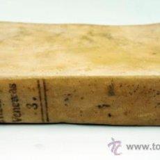 Libros antiguos: TRATADO DE LAS ENFERMEDADES VENEREAS, MR. ASTRUC. TOMO III. MADRID, 1772. 17X11 CM.. Lote 39306405