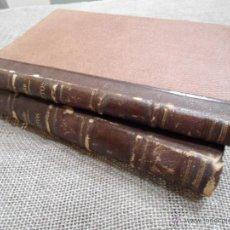 Libros antiguos: TRATADO COMPLETO DEL ARTE DE LOS PARTOS M. JOULIN ED. MOYA Y PLAZA 1874 TOMO 2 Y 3. Lote 39396323