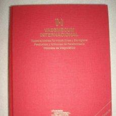 Libros antiguos: VADEMECUM INTERNACIONAL 2001. ESPECIALIDADES FARMACÉUTICAS Y BIOLÓGICAS. Lote 39394659