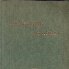 Libros antiguos: MEDICAMENTOS ESPECIALES. SCHERING-KAHLBAUM A.G. BERLIN. ALEMANIA. MUY ANTIGUO. Lote 39401829