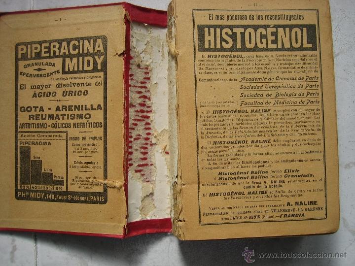 Libros antiguos: Agenda médico-quirúrgica 1918 por Bailly Bailliere. Madrid - Foto 2 - 39915821