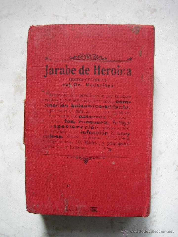 Libros antiguos: Agenda médico-quirúrgica 1918 por Bailly Bailliere. Madrid - Foto 8 - 39915821