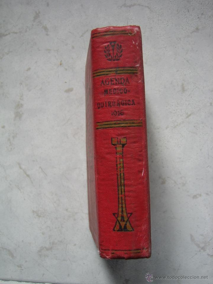 Libros antiguos: Agenda médico-quirúrgica 1918 por Bailly Bailliere. Madrid - Foto 9 - 39915821