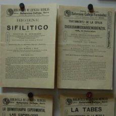Libros antiguos: FOLLETO REVISTA SATURNINO CALLEJA BIBLIOTECA DE CIENCIAS MÉDICAS 1911 // FARMACIA MEDICINA16. Lote 40268269