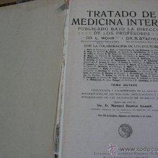 Libros antiguos: TRATADO DE MEDICINA INTERNA. TOMO OCTAVO. MOHR (DR. L.), STAEHELIN (DR. R.). Lote 40287960