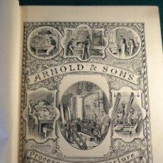 Libros antiguos: GRAN CATALOGO INSTRUMENTOS CIRUGÍA. 1895 ARNOLD. LONDON. 818 PAGS. 3230 ILUSTRACIONES. MEDICINA. Lote 40401607