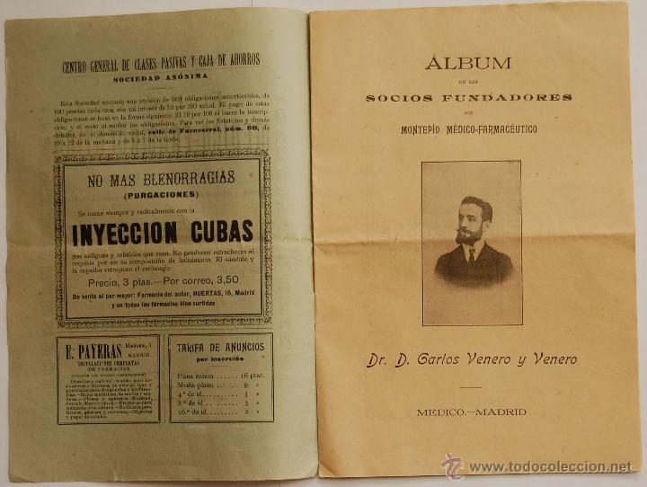 Libros antiguos: REVISTA EL PORVENIR MEDICO-FARMACEUTICO MONTEPÍO // AÑO 1902 - Foto 2 - 40472685