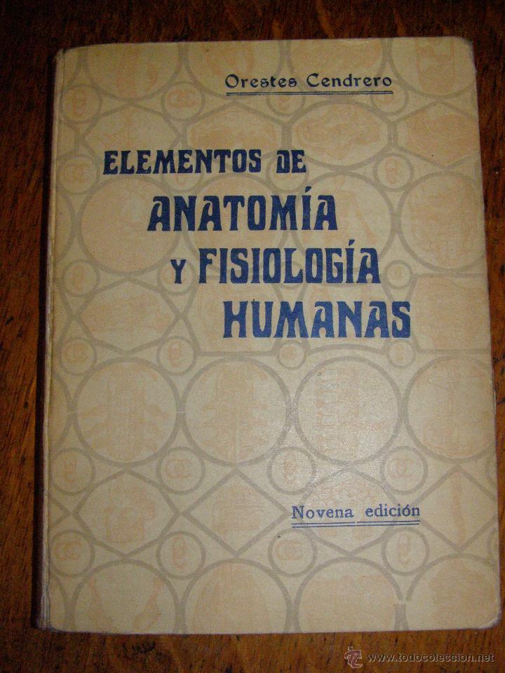 elementos de anatomía y fisiología humanas - or - Comprar Libros ...