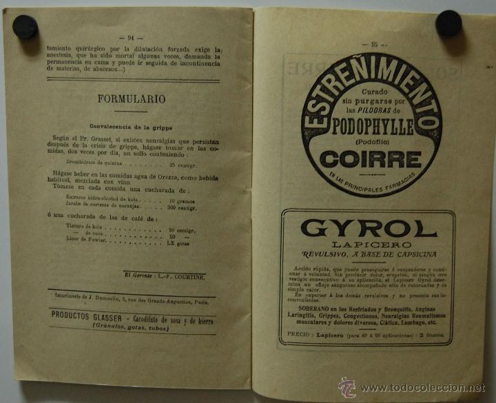 Libros antiguos: REVISTA FOLLETO MONITOR TERAPEÚTICO con artículos de medicina y farmacia // AÑO 1911 - Foto 2 - 41233192