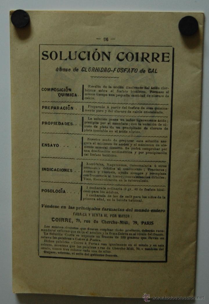 Libros antiguos: REVISTA FOLLETO MONITOR TERAPEÚTICO con artículos de medicina y farmacia // AÑO 1911 - Foto 3 - 41233192