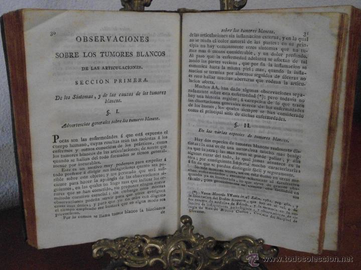 Libros antiguos: M. BELL. TRATADO TEÓRICO Y PRÁCTICO DE LAS ÚLCERAS. 1790 - Foto 3 - 41267929