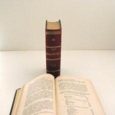 Libros antiguos: TRATADO ELEMENTAL DE TERAPÉUTICA. DR. A. MANQUAT. 1899. LITERATURA MÉDICA. MEDICINA.. Lote 41333694