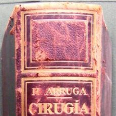 Libros antiguos: M. ARRUGA CIRUGÍA OCULAR. Lote 41487146