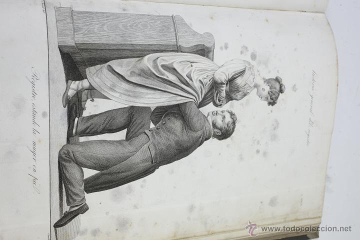 Libros antiguos: Nuevas demostraciones de los partos, con 80 estampas, J.L. Maygrier. París, Méjico, 1828. 27x41 cm. - Foto 5 - 41586318