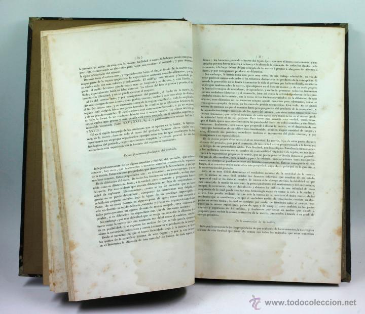 Libros antiguos: Nuevas demostraciones de los partos, con 80 estampas, J.L. Maygrier. París, Méjico, 1828. 27x41 cm. - Foto 13 - 41586318