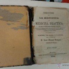 Libros antiguos: COMPENDIO DE LA MEDICINA O MEDICINA PRÁCTICA. JUAN MANUEL VENEGAS 1854. Lote 41676546