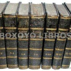 Libros antiguos: VALLEIX, PL.I. GUÍA DEL MÉDICO PRÁCTICO Ó RESUMEN GENERAL DE PATOLOGÍA INTERNA. 14 TOMOS EN 7 VOLÚMS. Lote 41771244